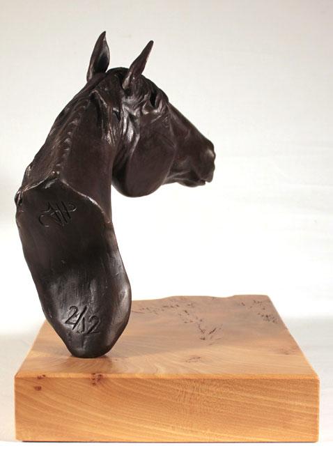 Joseph Hayton, Bronze, Pride No frame image. Click to enlarge