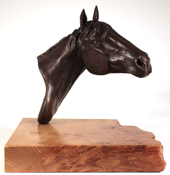 Joseph Hayton, Bronze, Pride Signature image. Click to enlarge