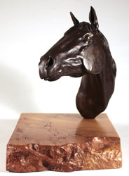 Joseph Hayton, Bronze, Pride Medium image. Click to enlarge