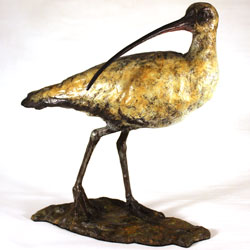 Joseph Hayton, Bronze, Curlew Medium image. Click to enlarge