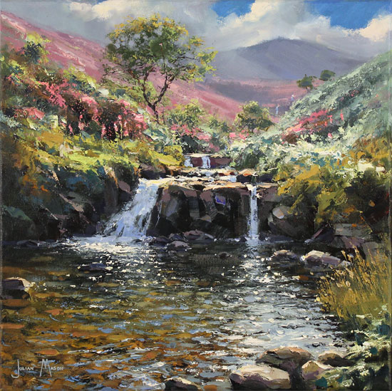Julian Mason, Original oil painting on canvas, Fairbrook No frame image. Click to enlarge