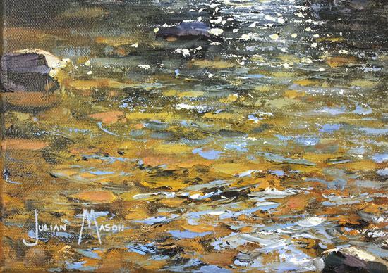 Julian Mason, Original oil painting on canvas, Fairbrook Signature image. Click to enlarge