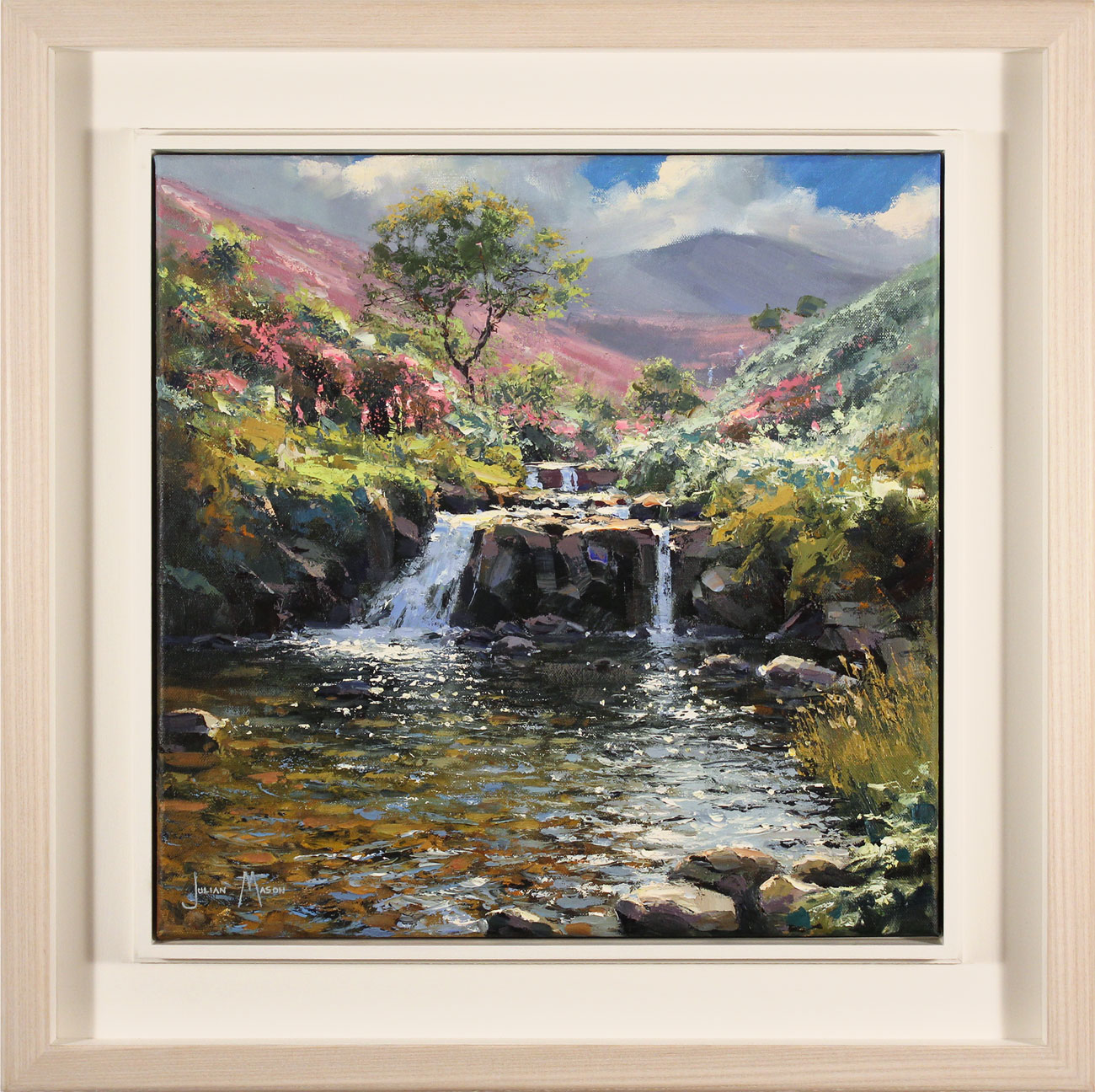 Julian Mason, Original oil painting on canvas, Fairbrook Click to enlarge