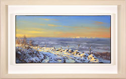 Julian Mason, Original oil painting on canvas, Winter Light Medium image. Click to enlarge