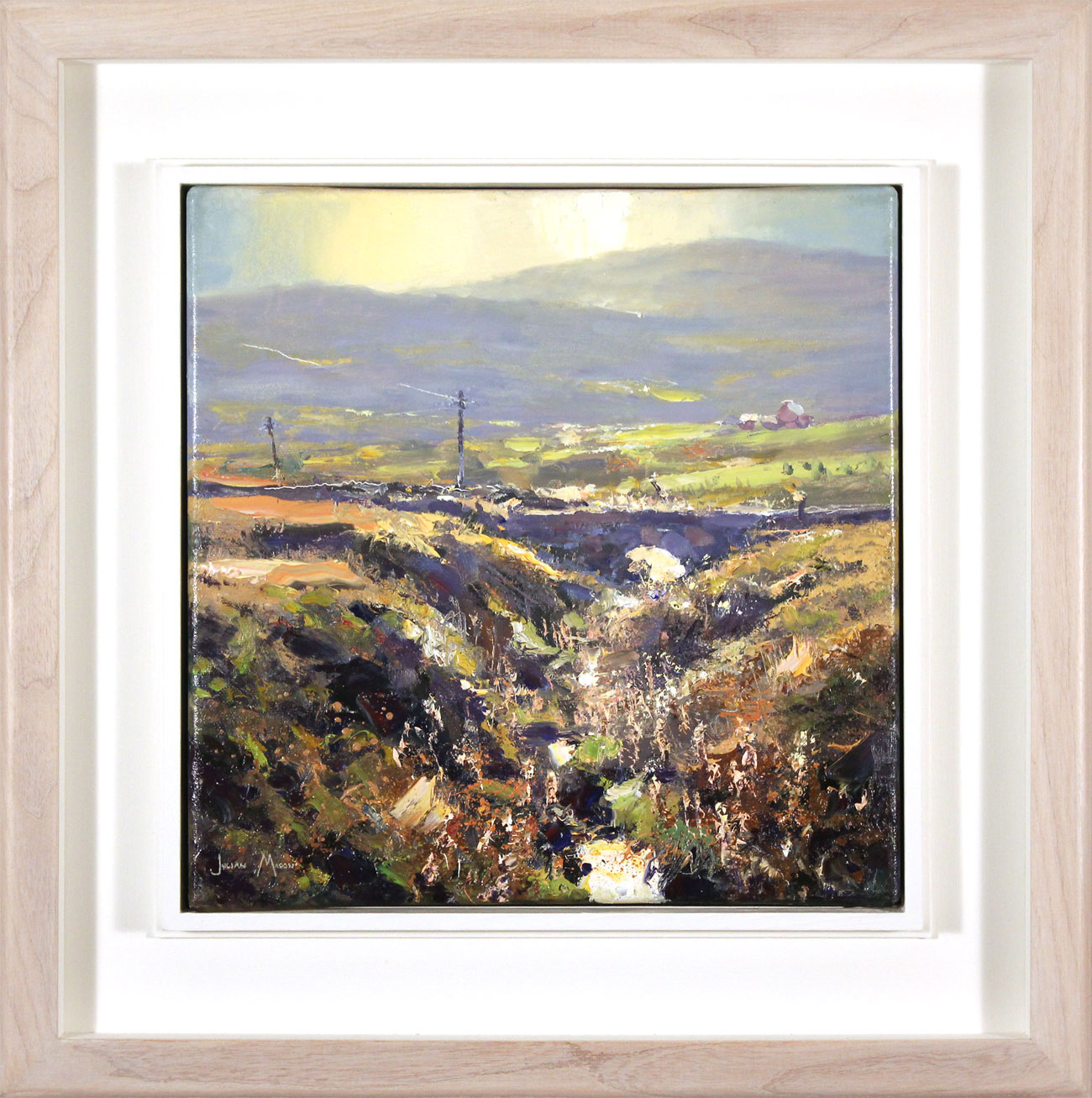 Julian Mason, Original oil painting on canvas, Goldstitch Moss Click to enlarge