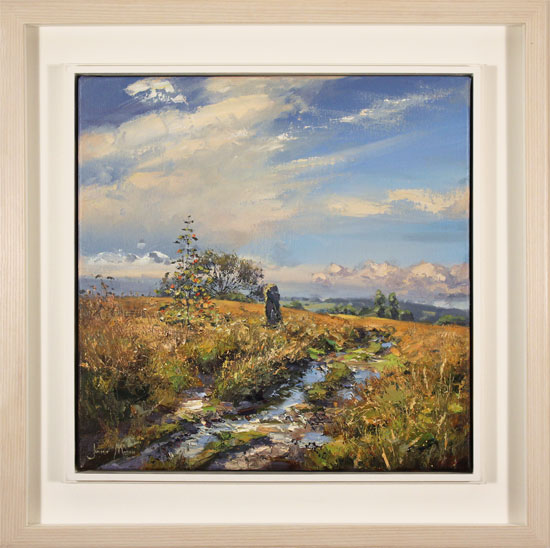 Julian Mason, Original oil painting on canvas, Gun Moor