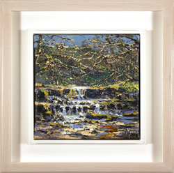 Julian Mason, Original oil painting on canvas, How Stean, Nidderdale