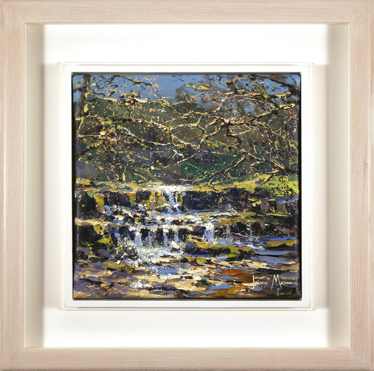 Julian Mason, Original oil painting on canvas, How Stean, Nidderdale Click to enlarge