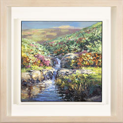Julian Mason, Original oil painting on canvas, Highshaw Clough Medium image. Click to enlarge