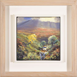 Julian Mason, Mid Afternoon, Below Kinder, Original oil painting on canvas