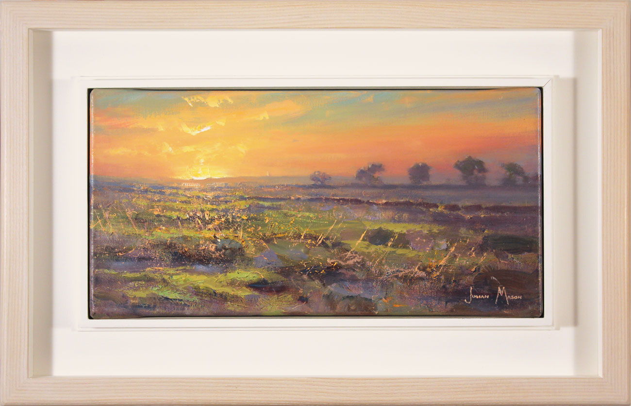 Julian Mason, Original oil painting on canvas, Evening Moorland Click to enlarge