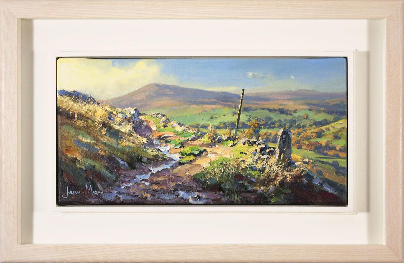 Julian Mason, Original oil painting on canvas, Gradbach from Turn Edge  Click to enlarge