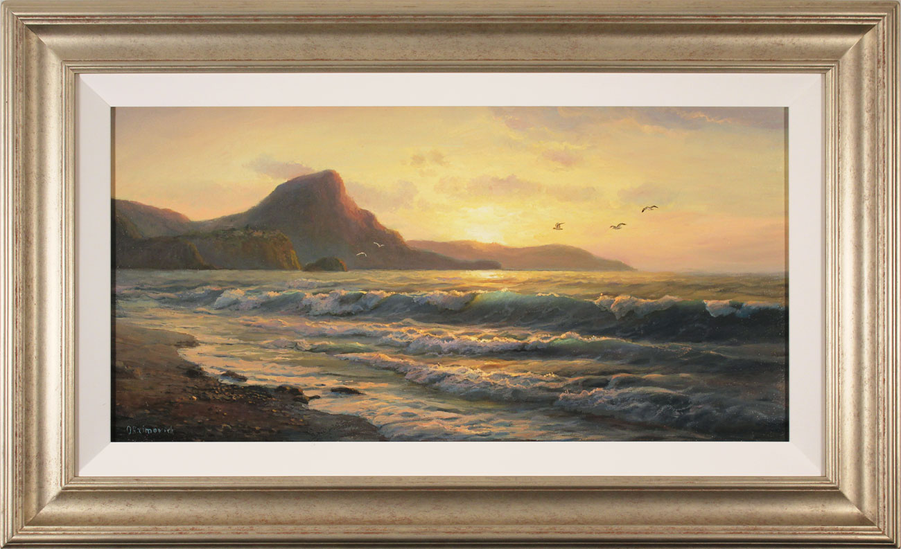 Juriy Ohremovich, Original oil painting on canvas, Evening Tides Click to enlarge