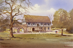 Ken Burton, Watercolour, The Hospitium, York