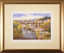 Ken Burton, Watercolour, Knaresborough, Yorkshire