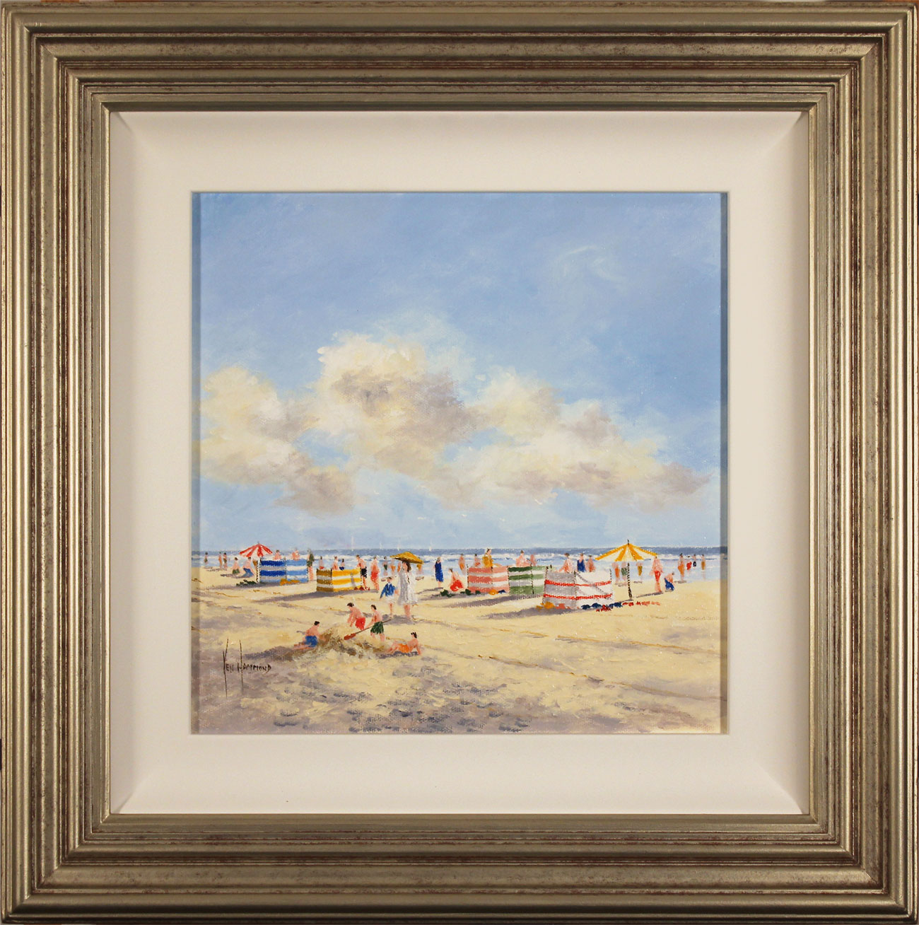 Ken Hammond, Original oil painting on canvas, Summer Sands Click to enlarge