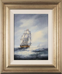 Ken Hammond, Original oil painting on panel, High Seas