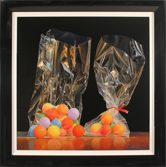 Ken Mckie, Original oil painting on canvas, Sweets