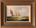 Ken Hammond, Original acrylic painting on canvas, Marine Scene Medium image. Click to enlarge