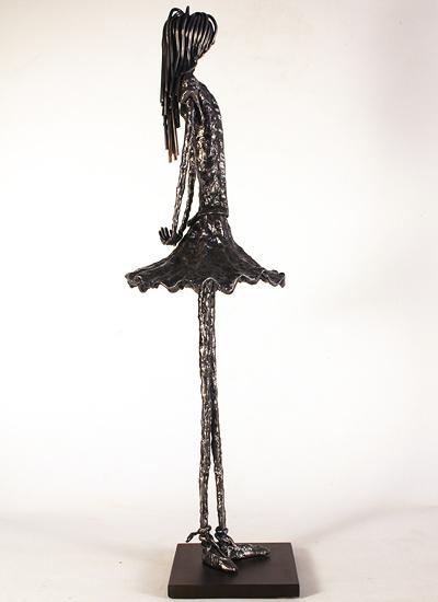Leon Leigh, Steel Sculpture, Sofiane Signature image. Click to enlarge