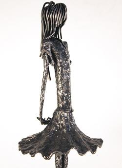 Leon Leigh, Steel Sculpture, Sofiane Medium image. Click to enlarge