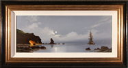 Les Spence, Original oil painting on canvas, Smuggler's Cove