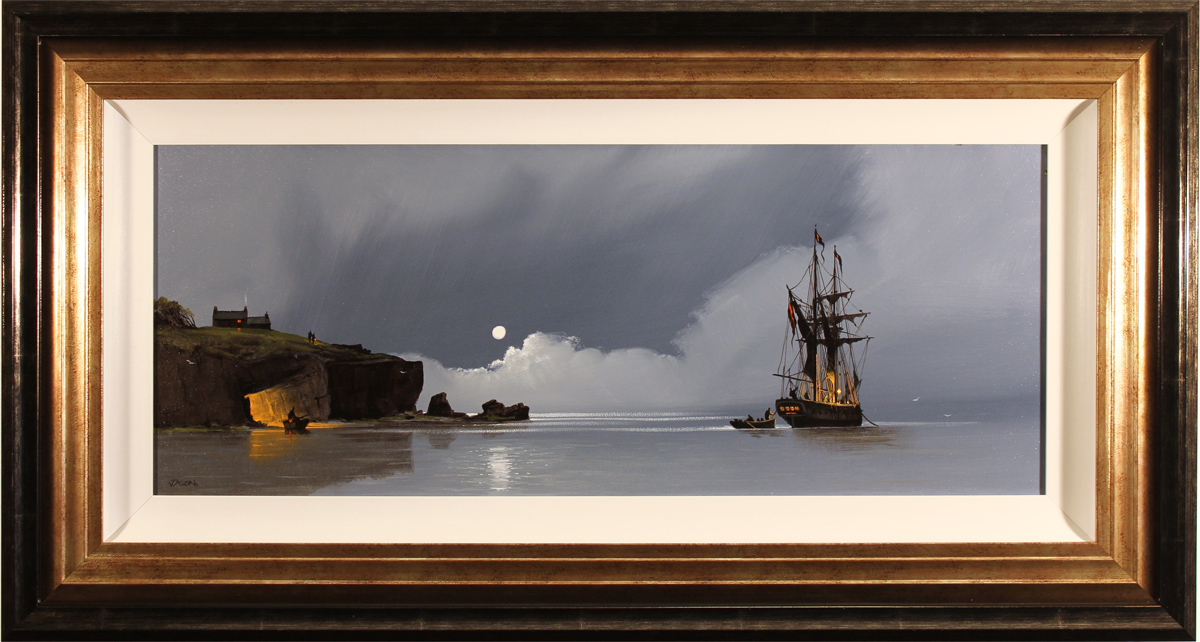 Les Spence, Original oil painting on canvas, Smuggler's Cove Click to enlarge