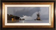 Les Spence, Original oil painting on canvas, Smuggler's Cove Medium image. Click to enlarge