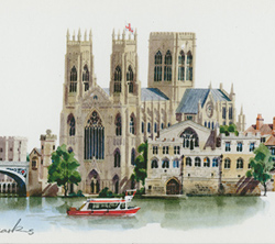 Matthew Cook, Print, York Landmarks Medium image. Click to enlarge