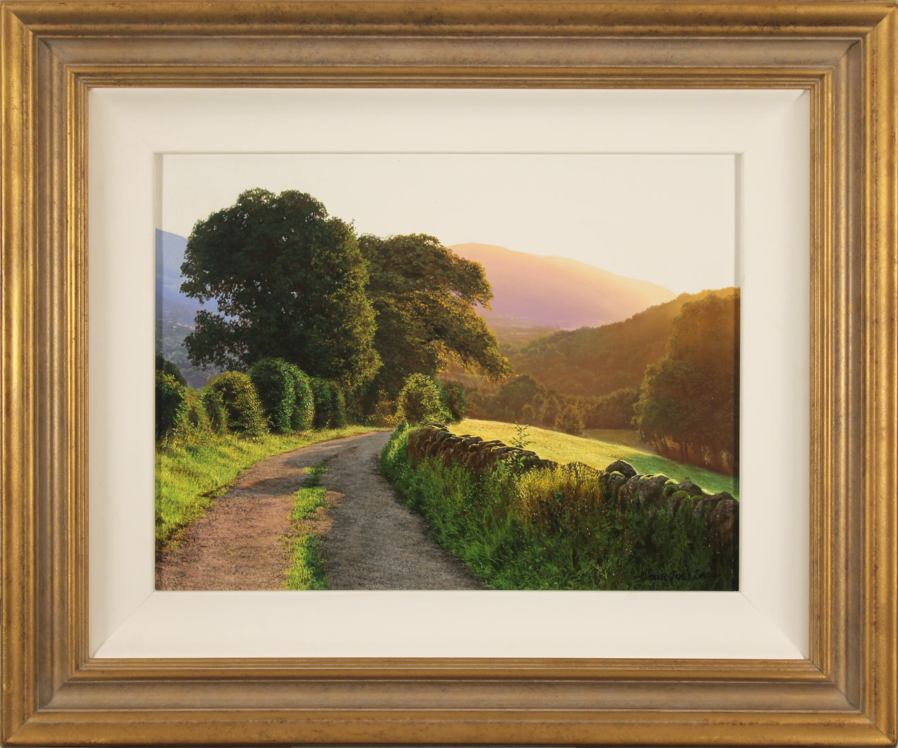 Michael James Smith, Original oil painting on canvas, Keswick Click to enlarge
