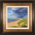 Michael James Smith, Original oil painting on panel, Spurn Point, East Yorkshire