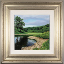 Michael James Smith, Original oil painting on panel, The River Wharfe, Yorkshire