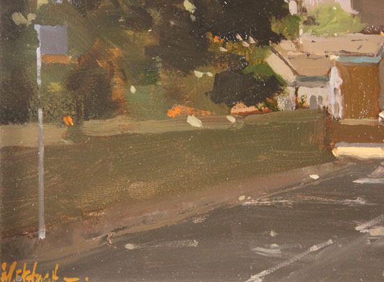 Michael John Ashcroft, AROI, Original oil painting on panel, The Old Post Office Signature image. Click to enlarge