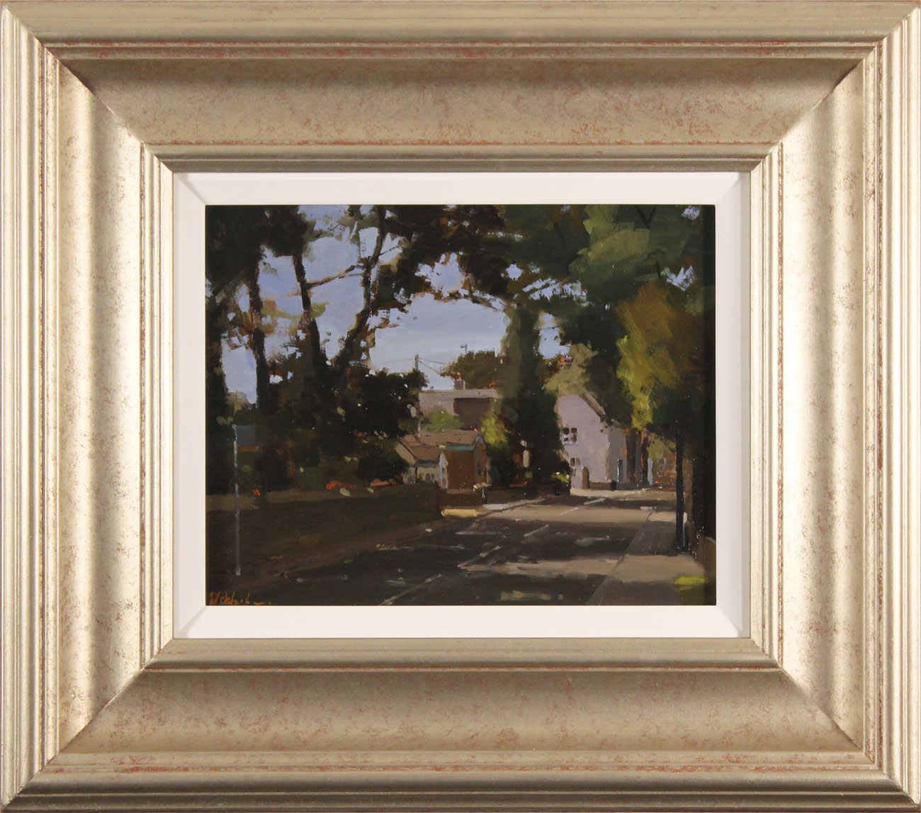 Michael John Ashcroft, AROI, Original oil painting on panel, The Old Post Office Click to enlarge