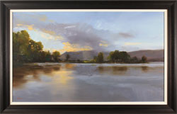 Michael John Ashcroft, MAFA, Original oil painting on panel, Loch Lomond