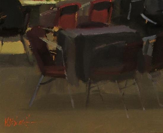 Michael John Ashcroft, AROI, Original oil painting on panel, Campo S Giovanni, Venice Signature image. Click to enlarge