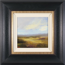 Michael John Ashcroft, MAFA, Original oil painting on panel, Facing East, Yorkshire Moors