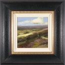 Michael John Ashcroft, MAFA, Original oil painting on panel, Down the Valley, Yorkshire Moors