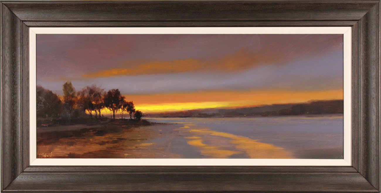 Michael John Ashcroft, AROI, Original oil painting on panel, Sunset Strip Click to enlarge