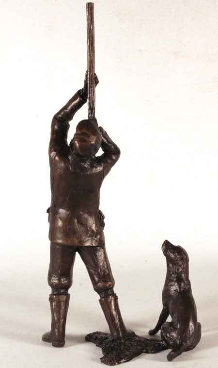 Michael Simpson, Bronze, Last Drive No frame image. Click to enlarge