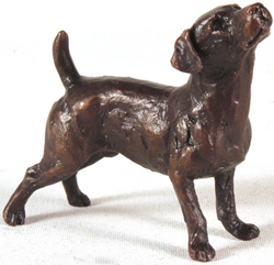 Michael Simpson, Bronze, Jack Russell Standing