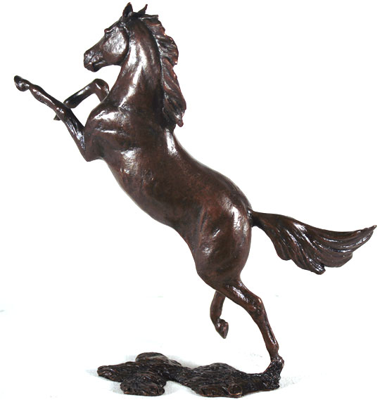 Michael Simpson, Bronze, Freedom No frame image. Click to enlarge