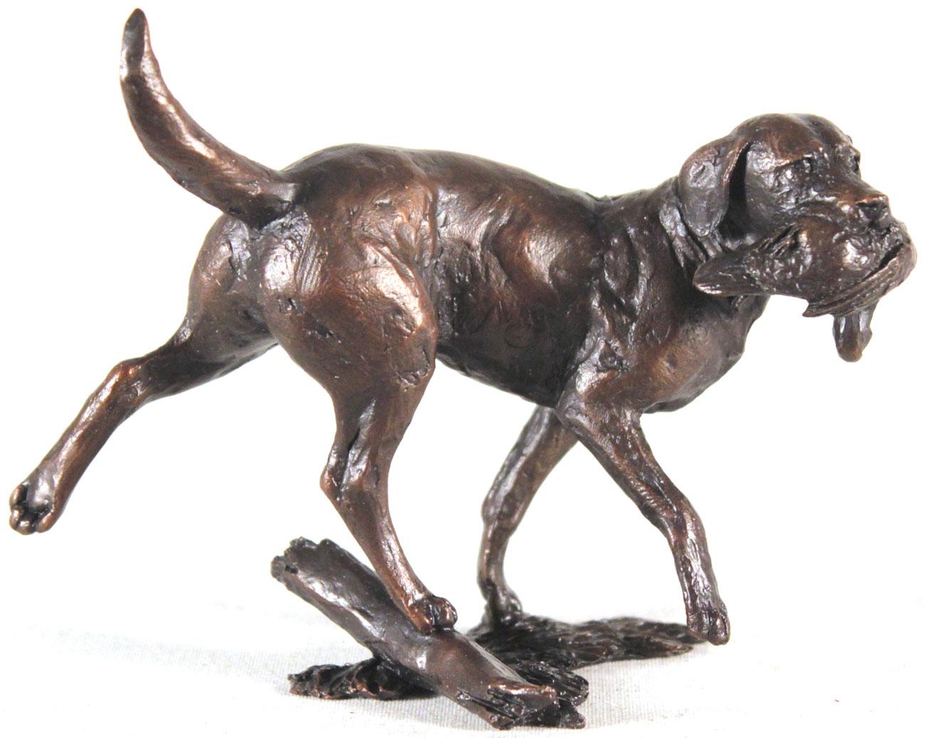 Michael Simpson, Bronze, Working Labrador Click to enlarge
