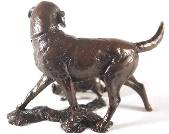 Michael Simpson, Bronze, Patience Signature image. Click to enlarge