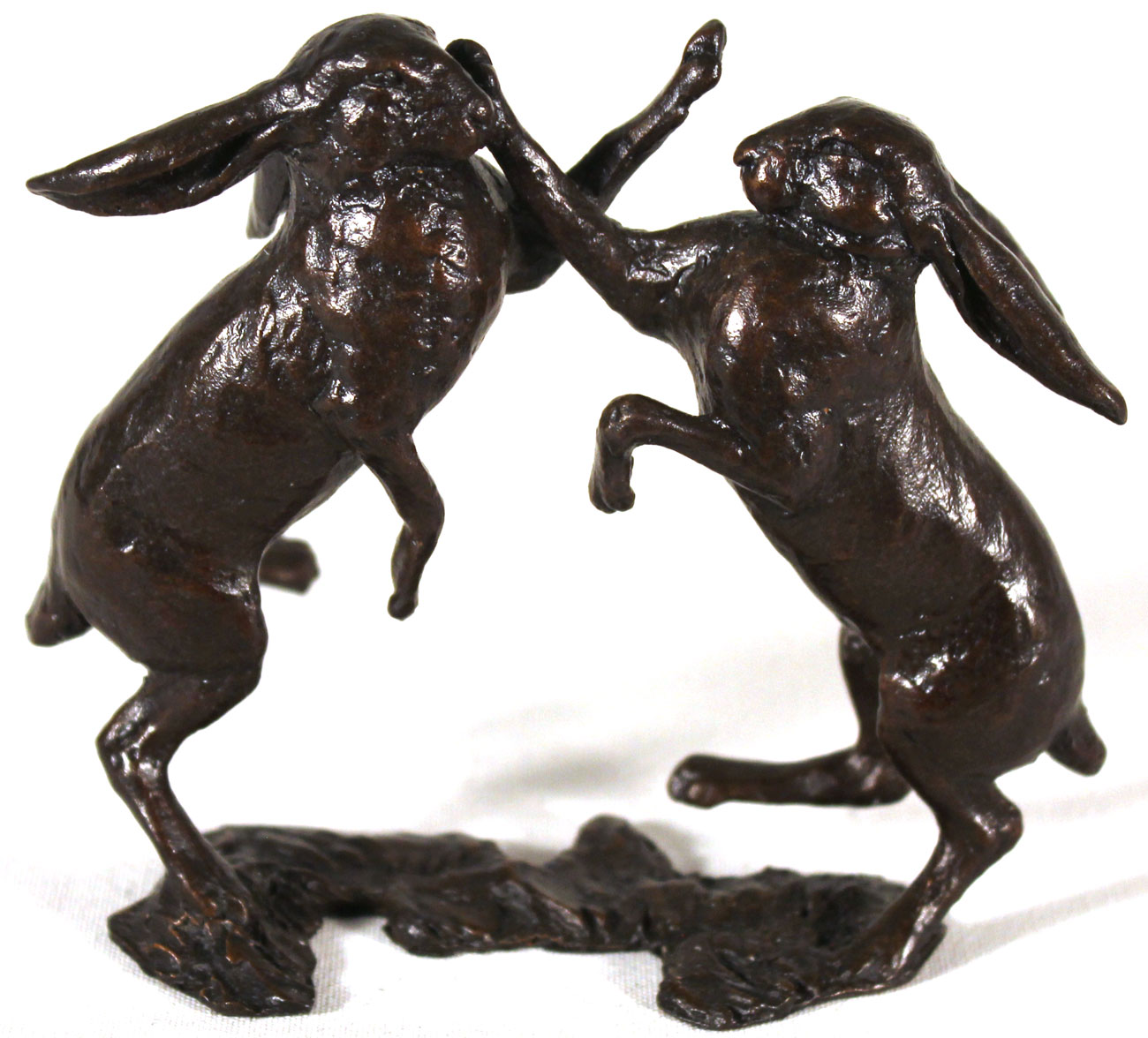 Michael Simpson, Bronze, Small Hares Boxing Click to enlarge