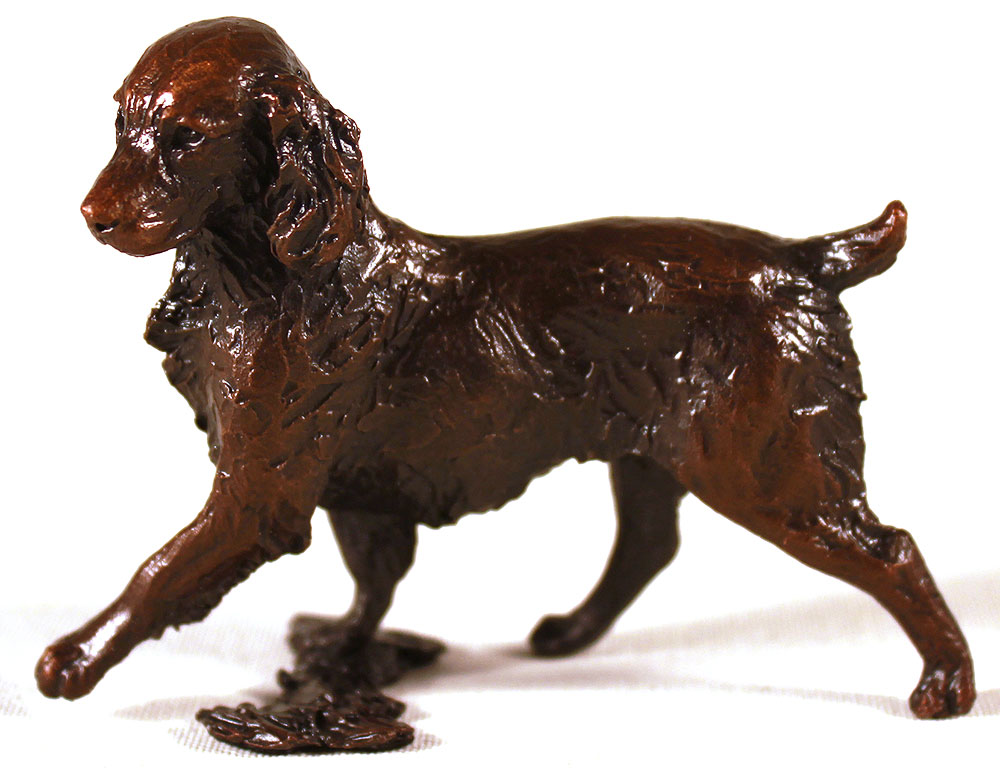 Michael Simpson, Bronze, Small Springer Spaniel Click to enlarge