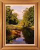 Michael James Smith, Original oil painting on canvas, Lathkill Dale, Derbyshire