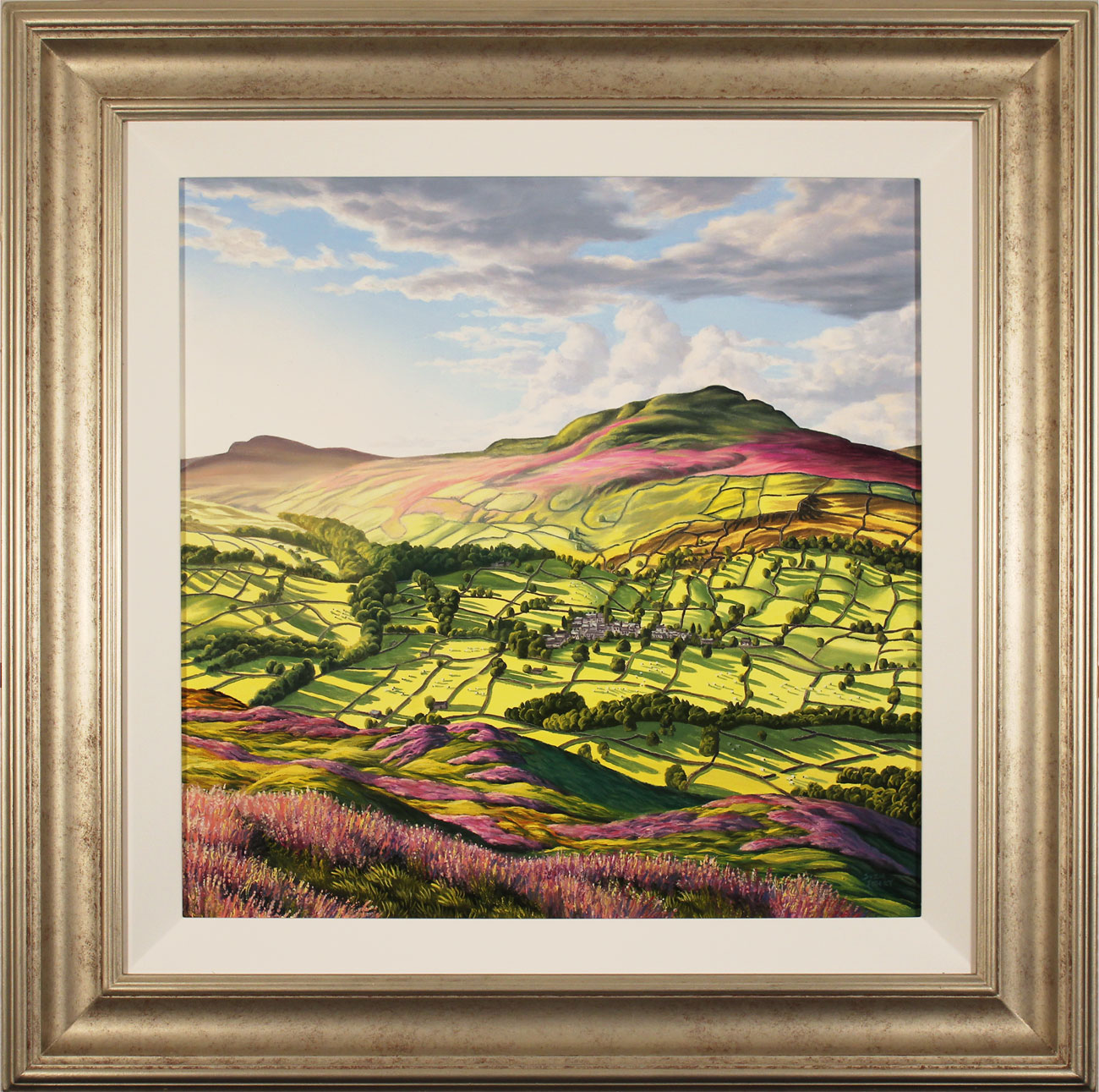 Suzie Emery, Original acrylic painting on board, Yorkshire Glory Click to enlarge