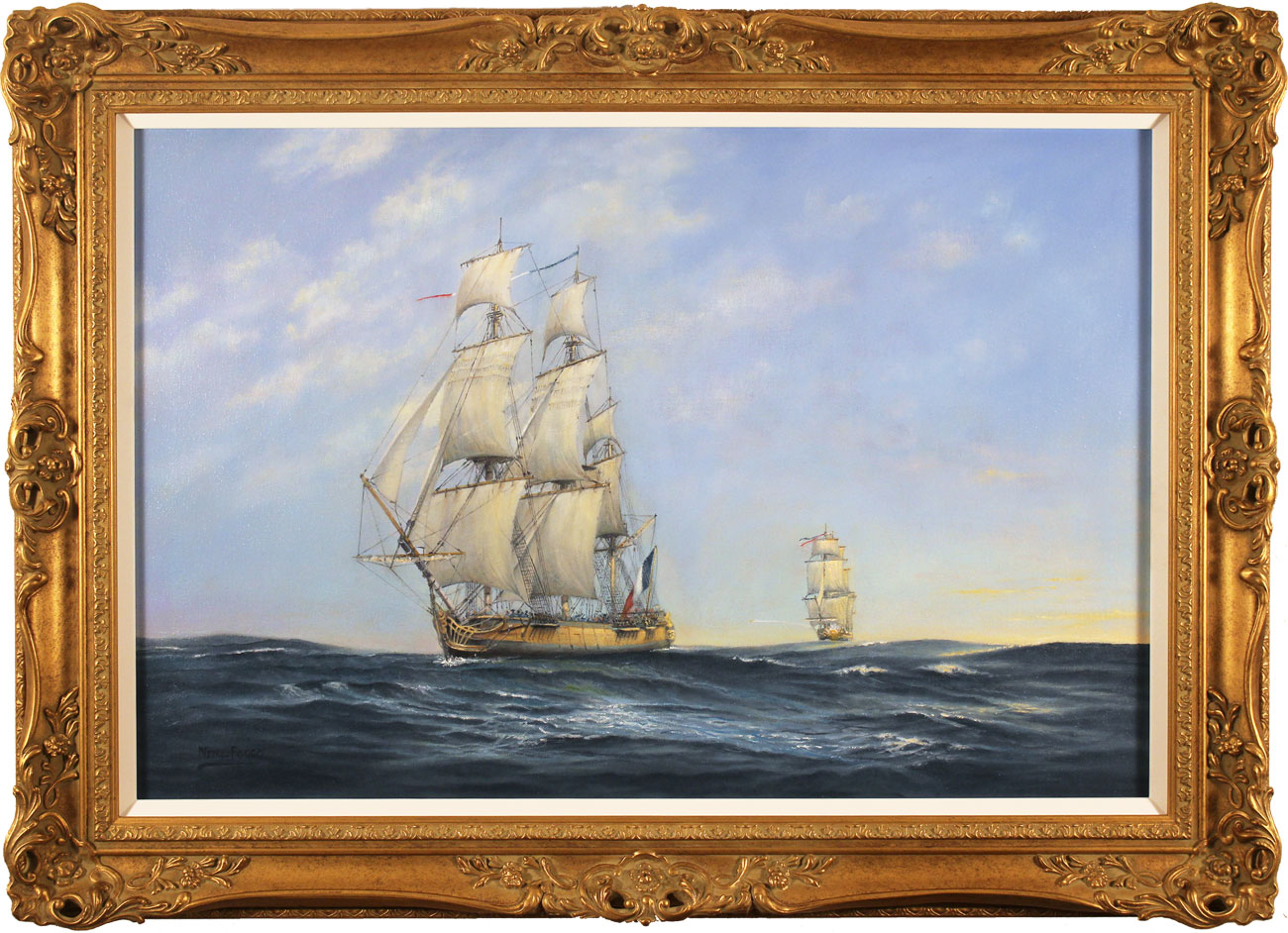 Neil Foggo, Original oil painting on canvas, Hermione Makes Her Escape Click to enlarge