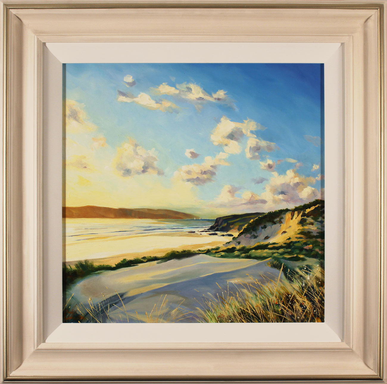 Paul Lancaster, Original oil painting on panel, Soft Sands Click to enlarge